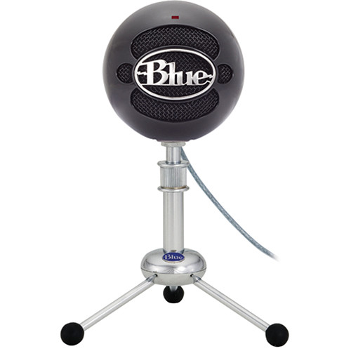 Blue Snowball iCE Condenser USB Microphone (BlackWhite)