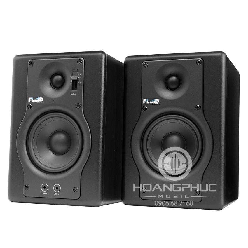 Fluid Audio Fader Series F4 Active Studio Monitors (Pair)