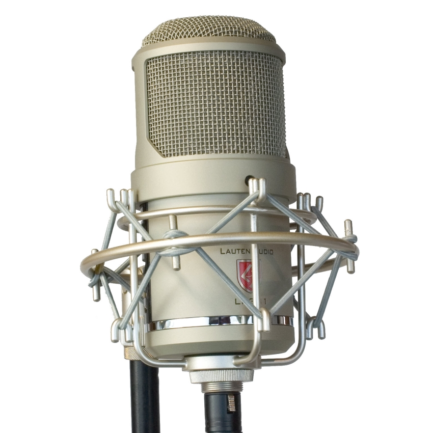 Lauten Audio LT-381 Transformerless Dual-Tube Microphone