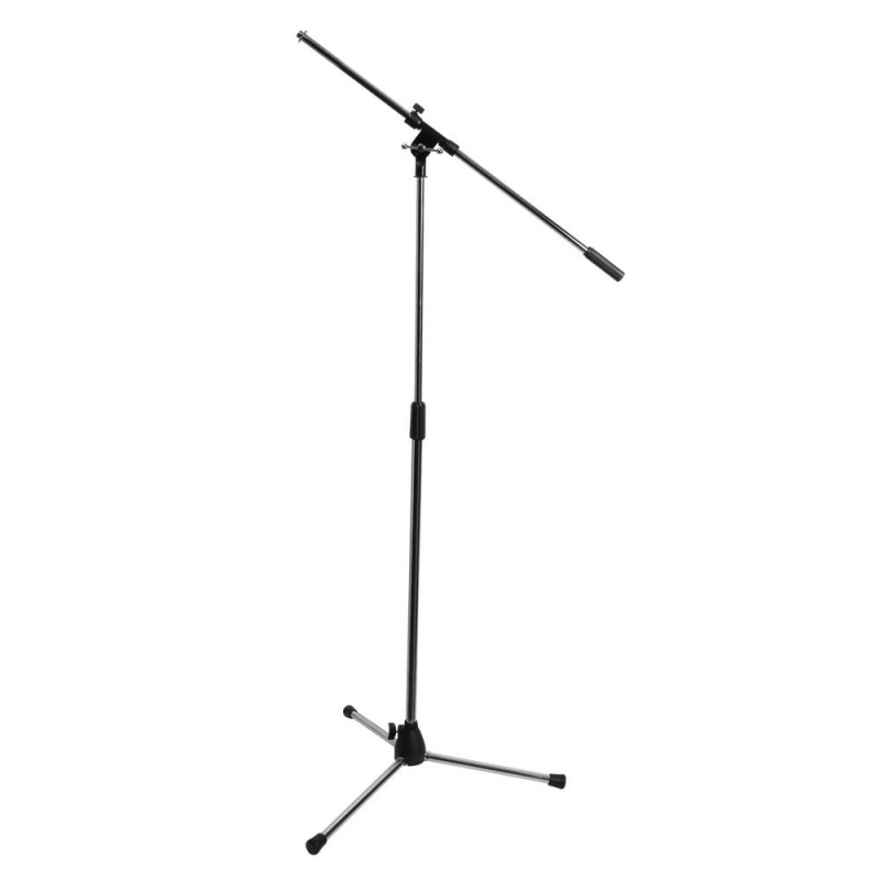 On-Stage MS7701C Euro Boom Microphone Stand (Chrome)