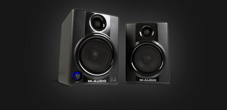 Loa kiểm âm giá rẻ M-Audio Studiophile AV 40 thời trang