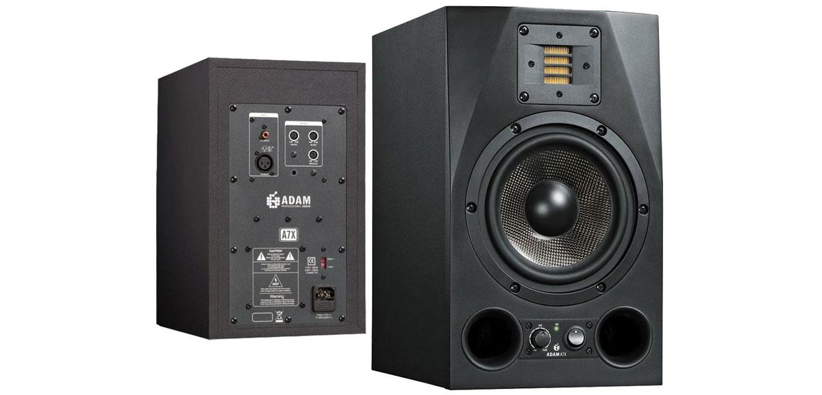 Loa kiểm âm phòng thu tốt nhất với sản phẩm loa Adam F7