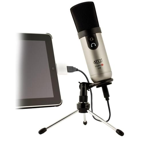 MXL Studio 1 Red Dot USB Microphone Kit