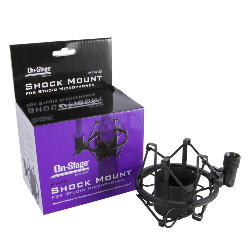 On-Stage MY410 Studio Microphone Shock Mount