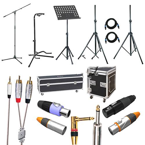 Một số linh kiện âm thanh chính hãng phổ biến