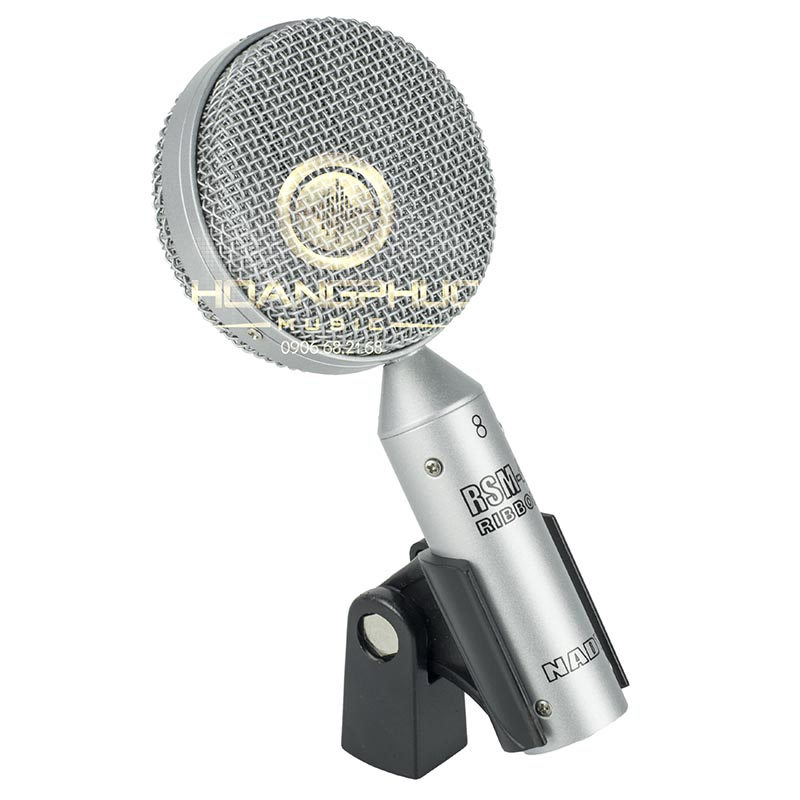 Nady RSM-4 Vocals / Instrument / Amp Cabinets Ribbon Microphone