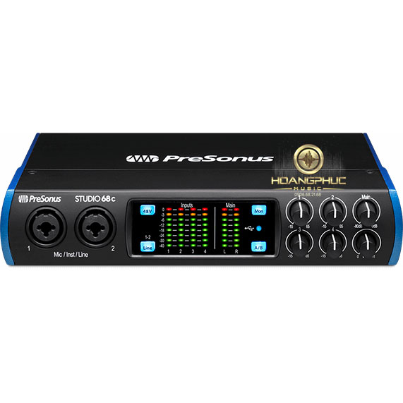 Audio Interface Presonus Studio 68c