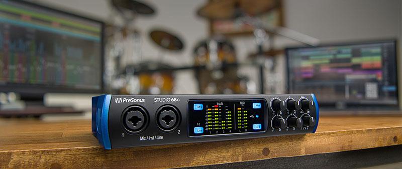 Sound card thu âm Presonus Studio 68c