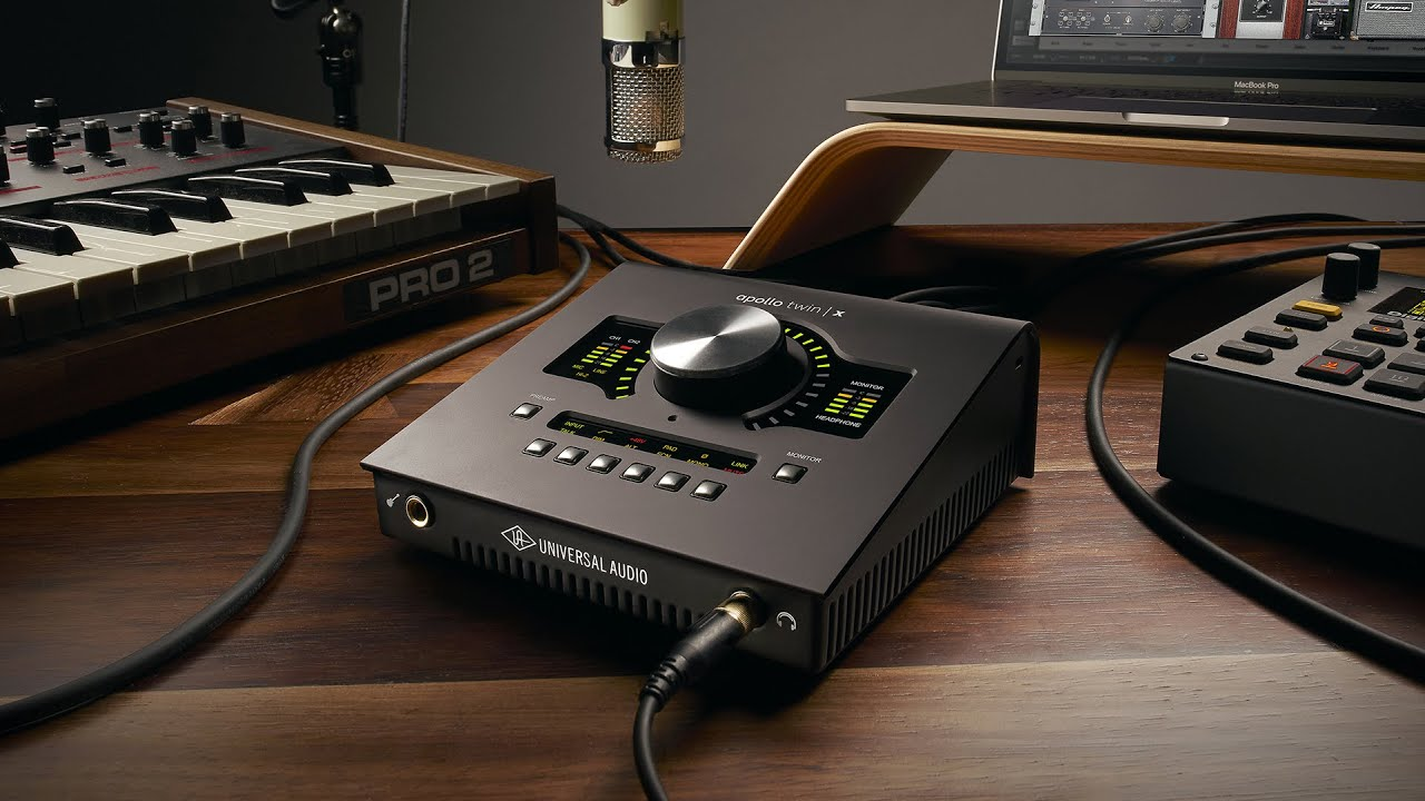 Sound card thu âm cho sản xuất âm nhạc
