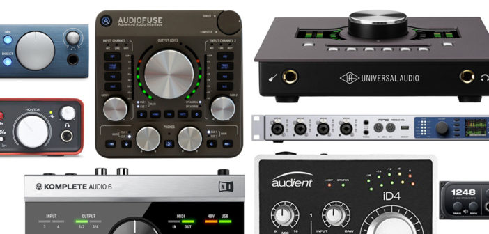 Top sound card được sử dụng để thu âm nhiều nhất