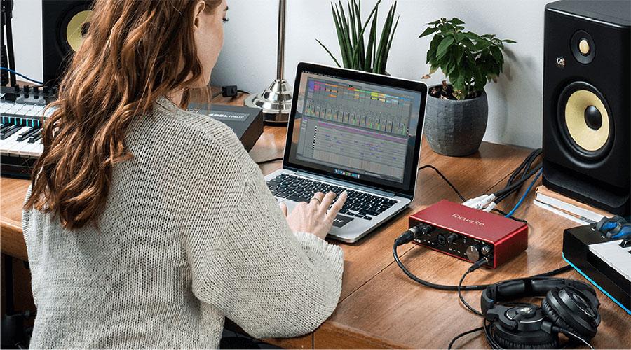 Hướng dẫn sử dụng sound card Focusrite