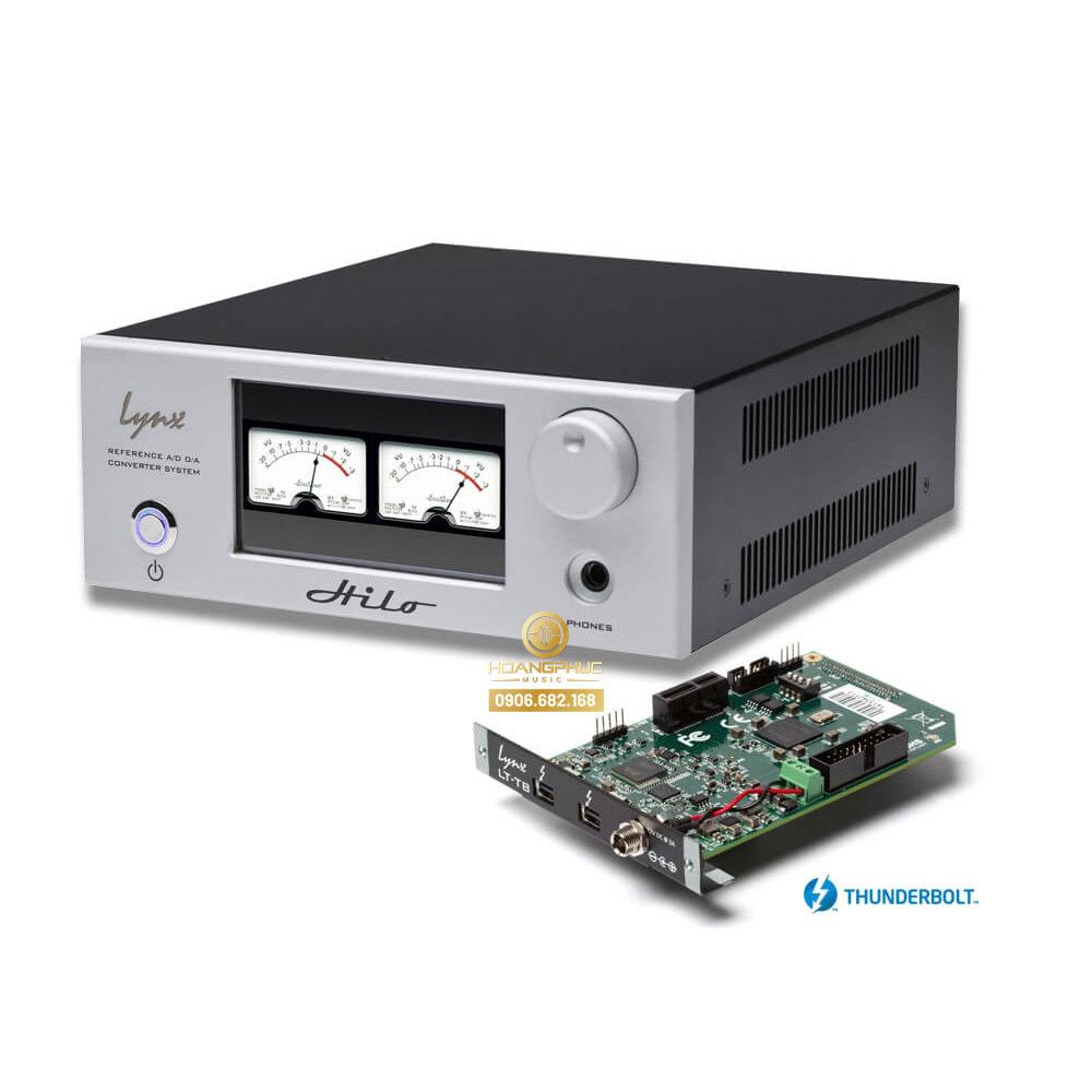 Lynx Studio Hilo Reference Converter Thunderbolt (Black - Silver)